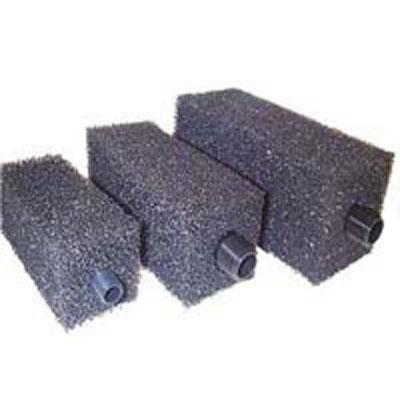 """Block Foam Pre filter - Medium 200 x 100 x 100mm - 3/4"""" BSP Thread"""
