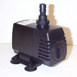 Reefe 550PLV low voltage pump with foam filter