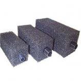 "Block Foam Pre filter - Medium 200 x 100 x 100mm - 3/4"" BSP Thread"